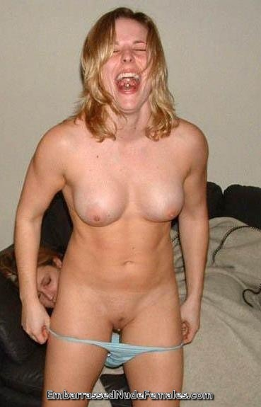 Embarrassed caught in her panties opinion