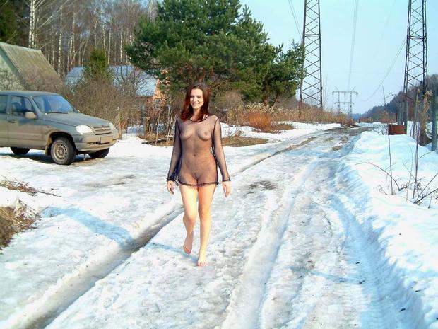 winter milf