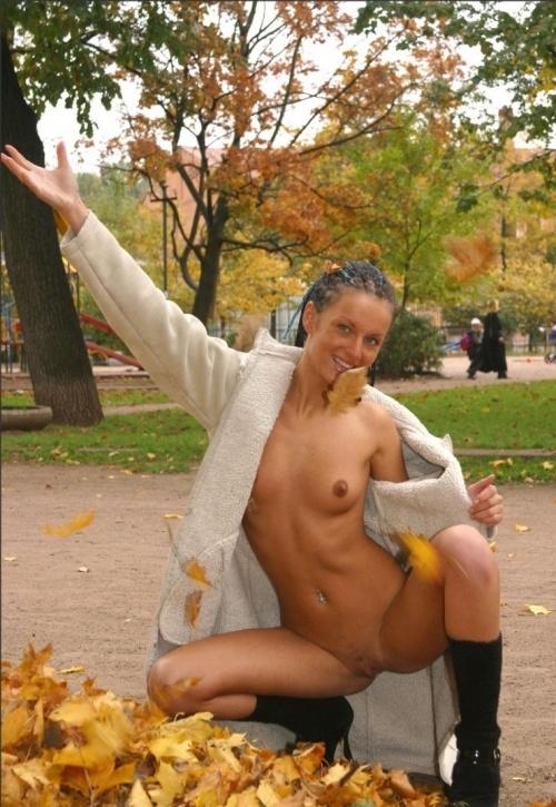 Lesbians caught in public