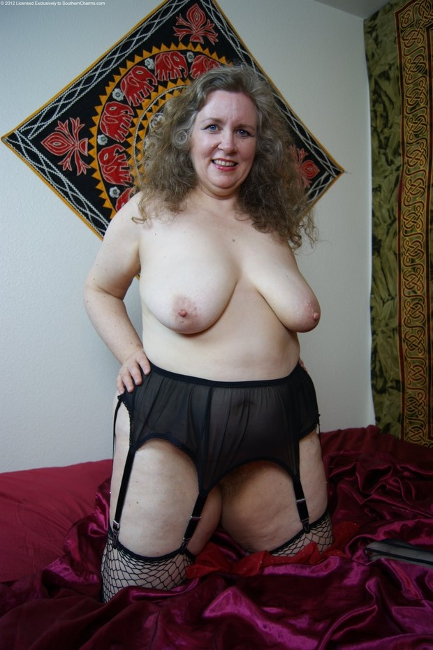 Granny chubby lingerie xxx and thought