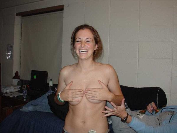 Girls Holding Their Own Tits - Nice Tits on Hot Chicks; Amateur