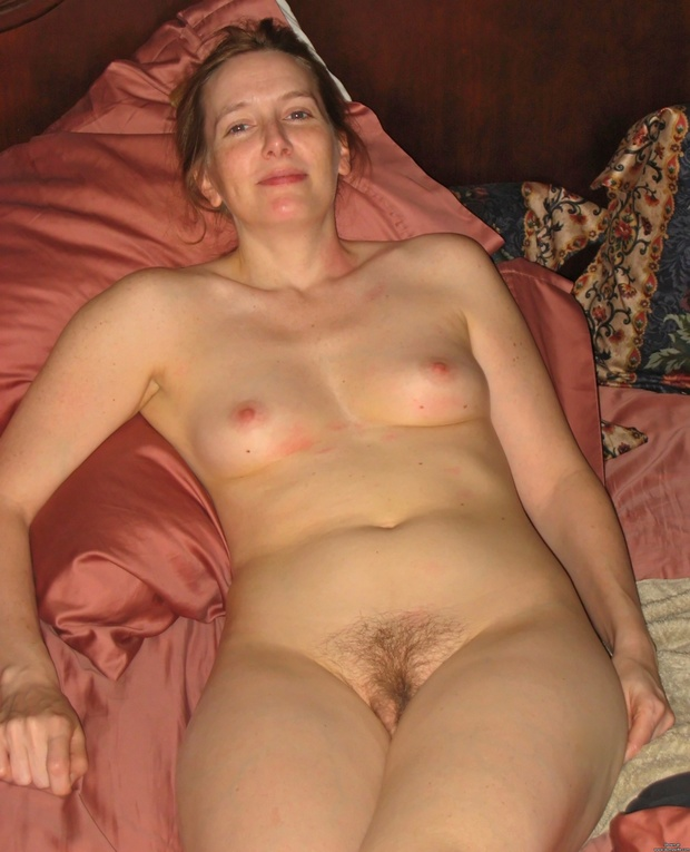 Blonde milf hairy
