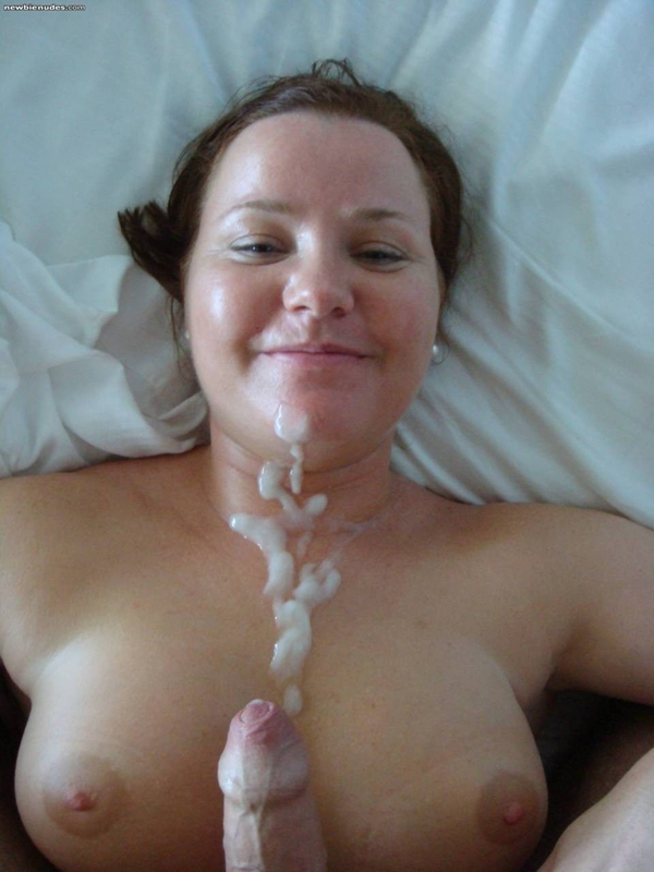 tits covered big Amateur cum
