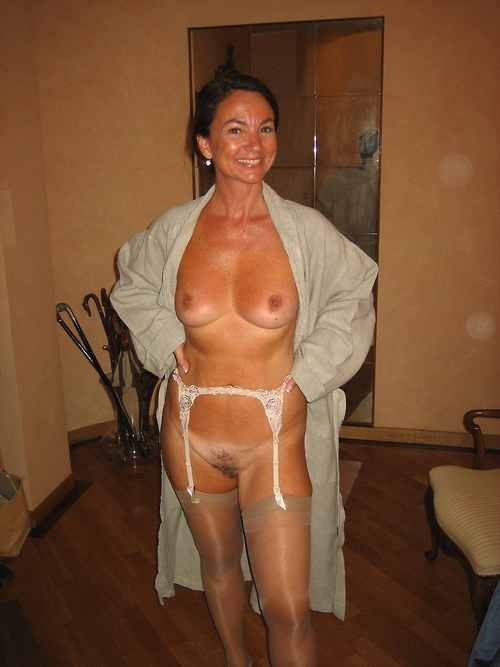 Amateur mature women in lingerie
