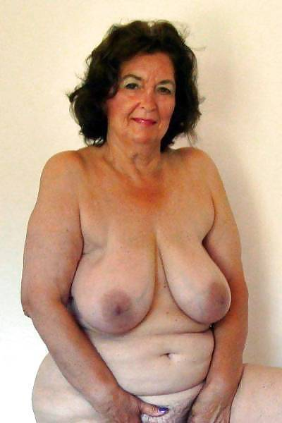 naked old big tit plumper