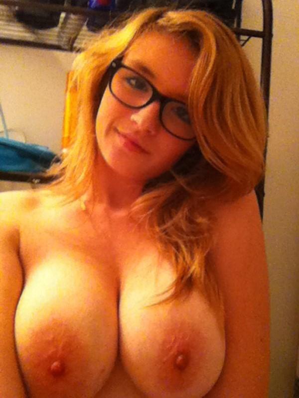 Red Head Huge Tits 31