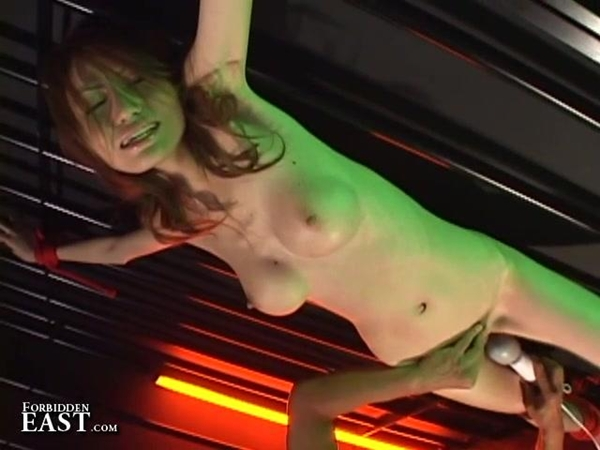 Busty Asian Girl Gets Tied Up And Fingered; Asian Big Tits Fetish Toys