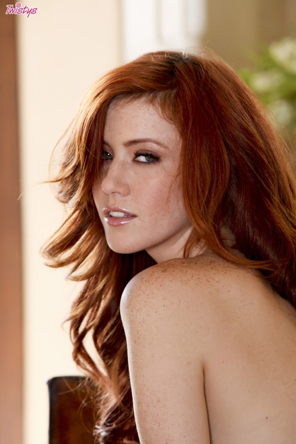 Elle Alexandra; Babe Red Head