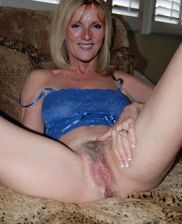 German Amateur Creampie Milf