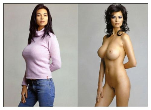 from Tony clothed women then nude