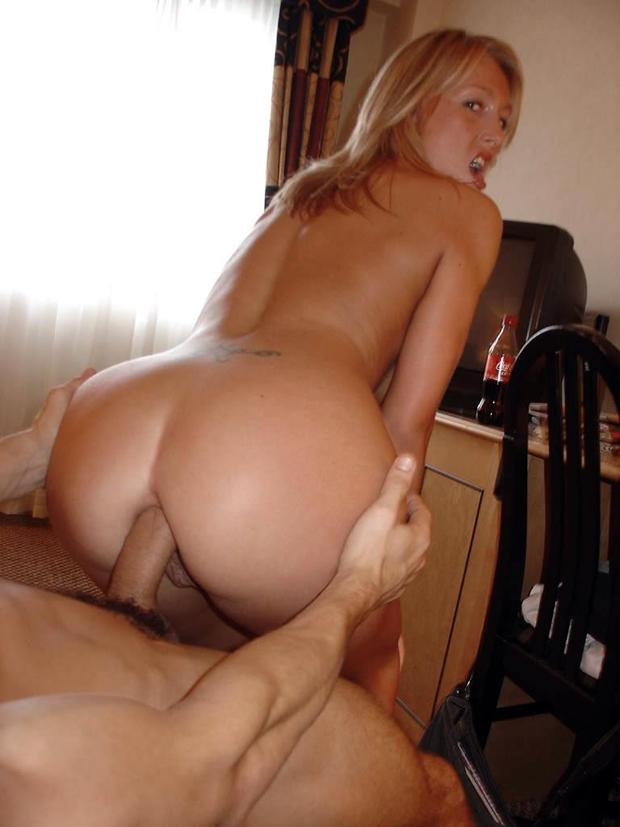 Blond milf ass