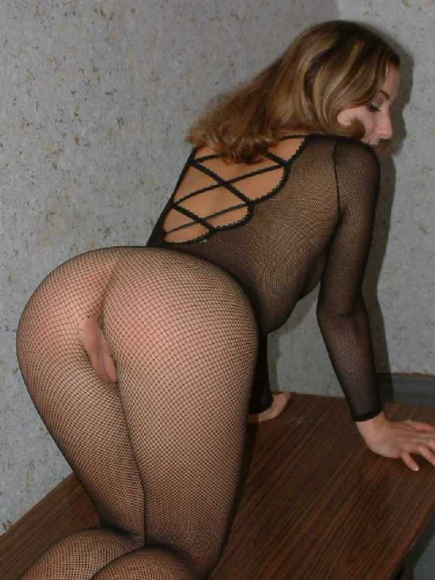 Amateur see through lingerie for the