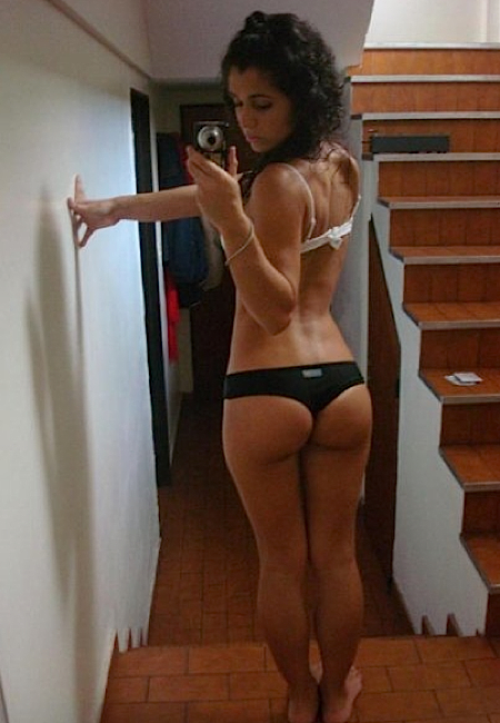...; Amateur Ass Brunette Girlfriends Non Nude Selfpic Selfshot