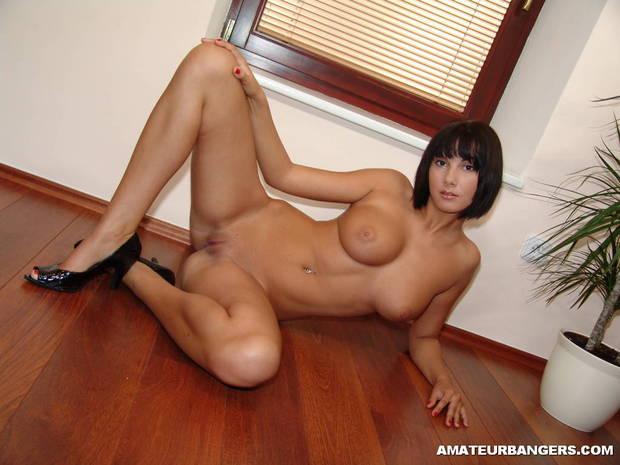...; Amateur Big Tits Brunette Pussy