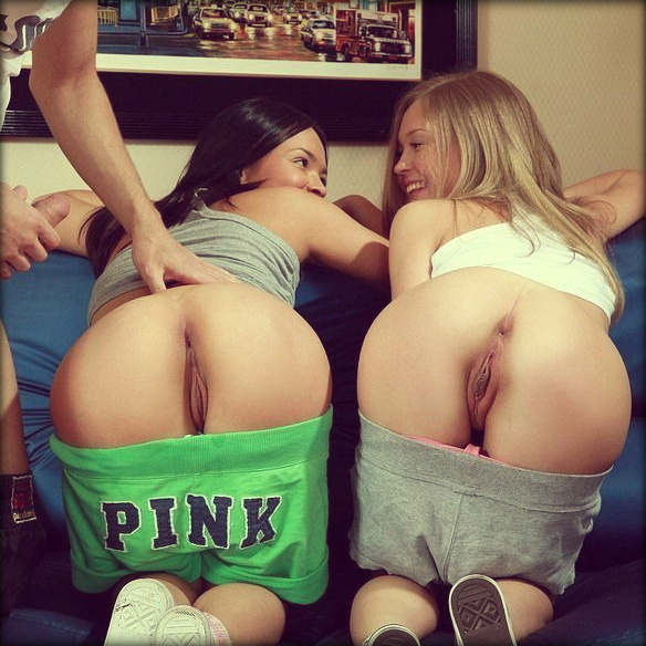 ...; Ass College Petite Pussy Threesome