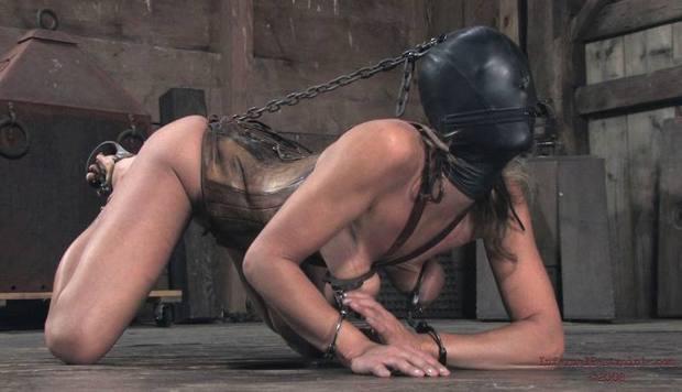 ...; BDSM Brunette