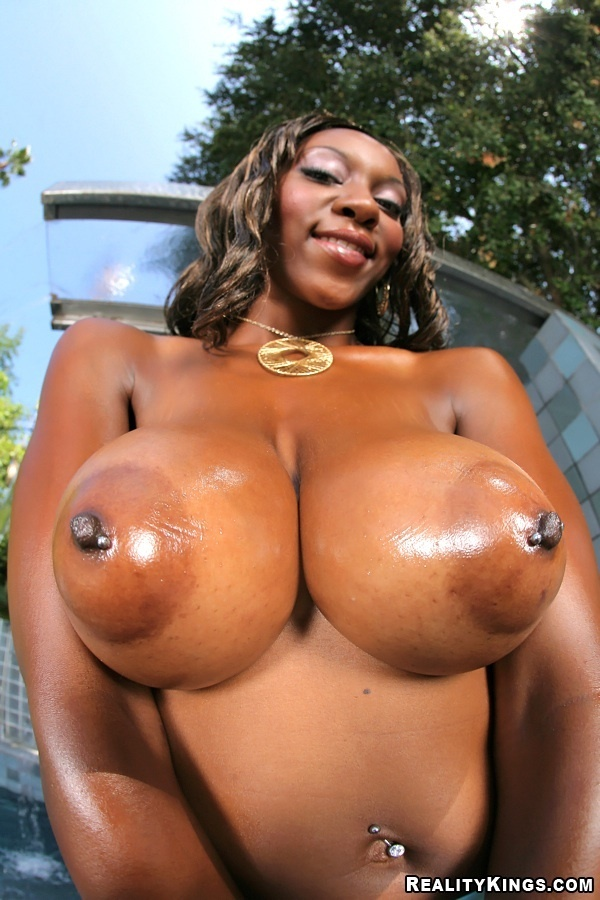 Big black tits ebony