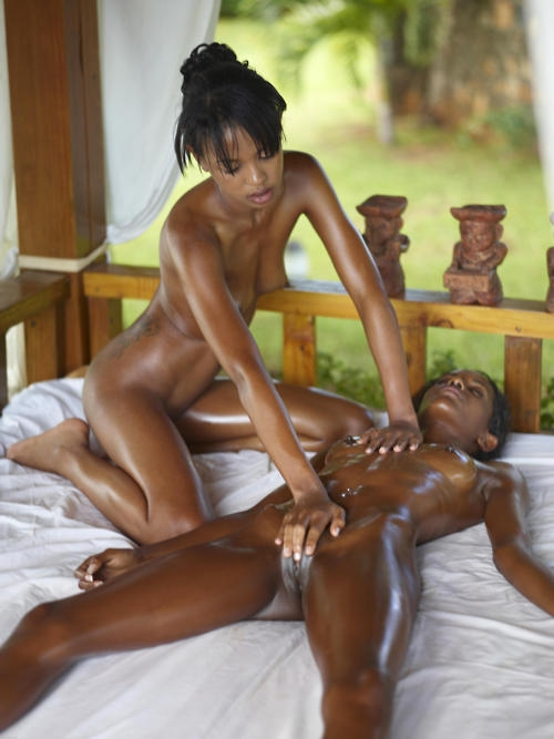 Naked black women masturbating