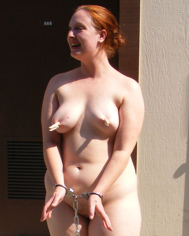 ...; Amateur BDSM Big Tits Red Head