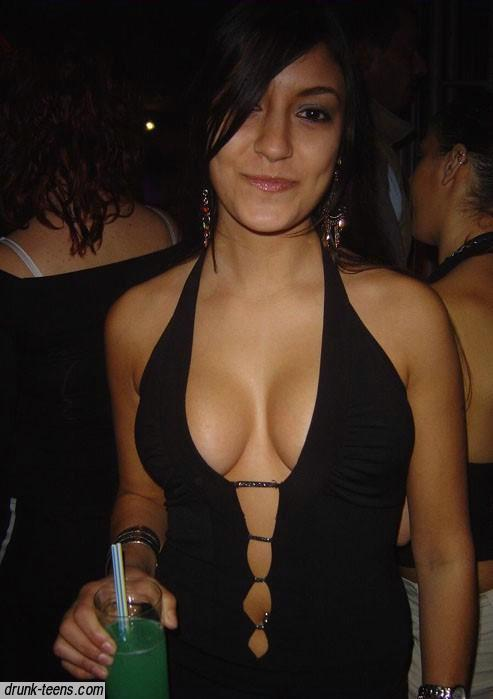 ...; Amateur Big Tits Brunette Cleavage Non Nude Party Teen