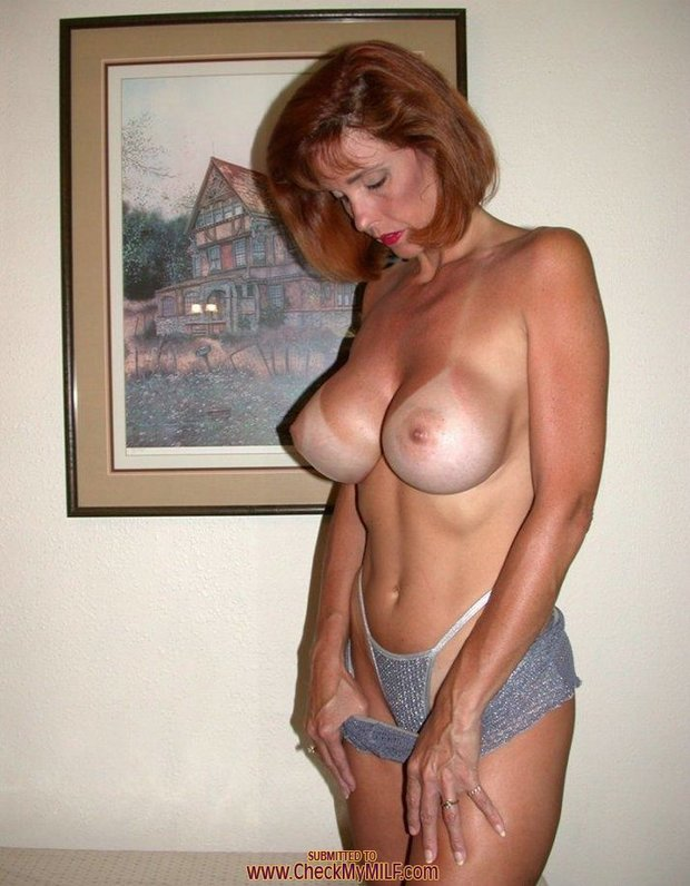 Video redhead redhead boobs hot big tits milf mom