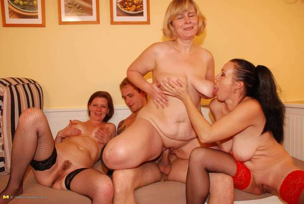 Mature grouip sex