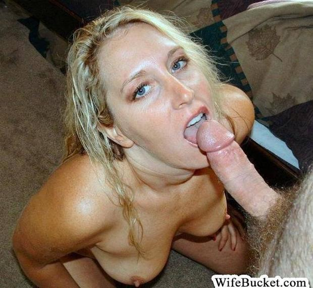 Amateur blonde milf blowjob hot he cum 10