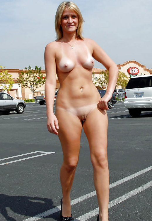 Milf mom outdoor nudity what