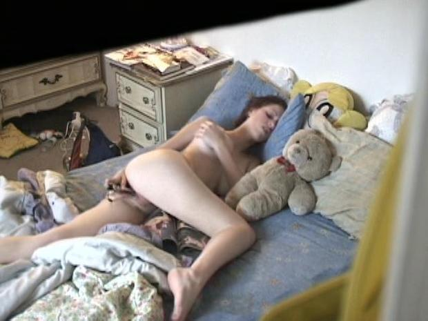 Hidden camera hot teen sex are
