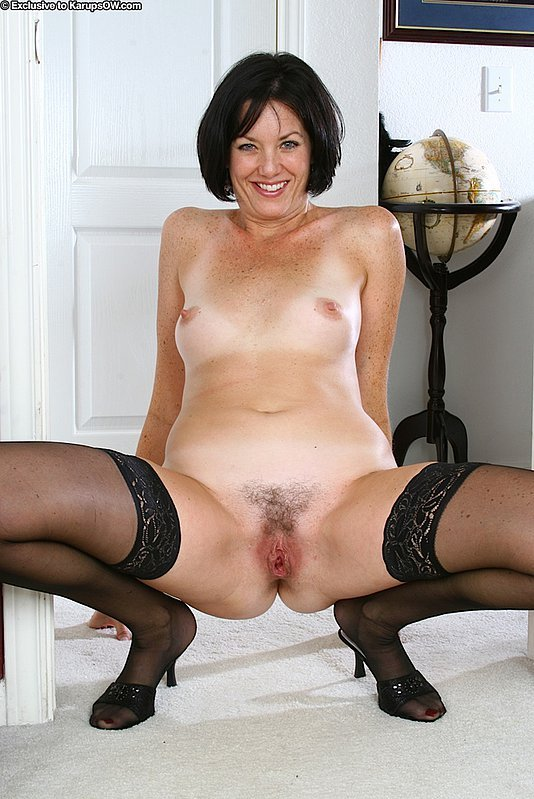 Old Young Stockings Hairy
