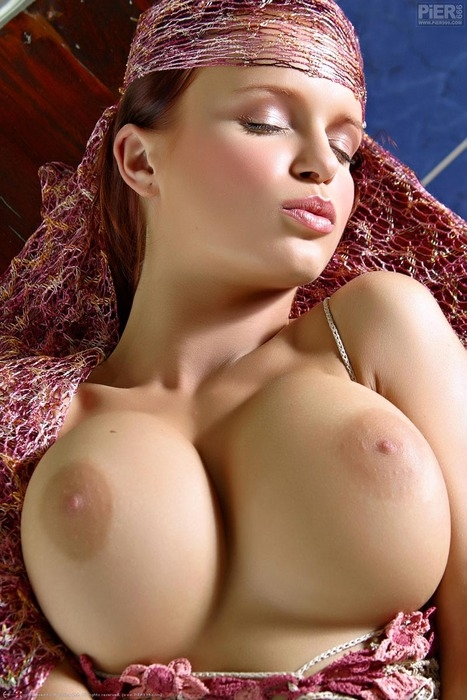 Glorious Nipples!; Babe Big Tits Red Head