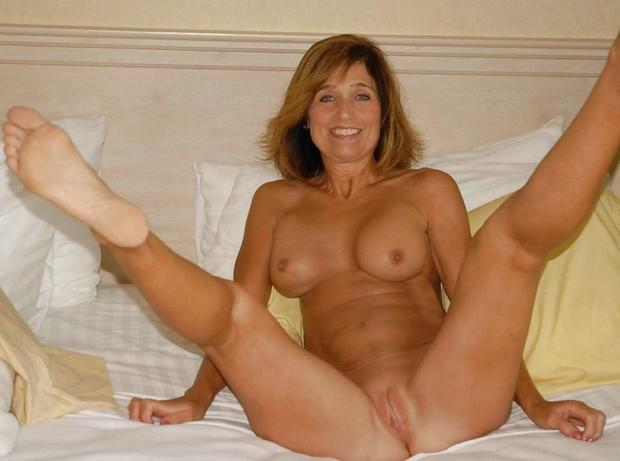 Blonde milf wife