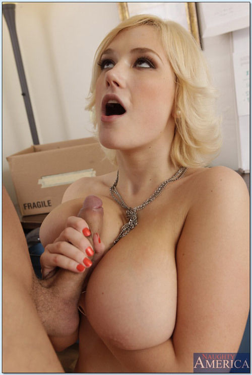 Agree, very big blonde fucking tit necessary