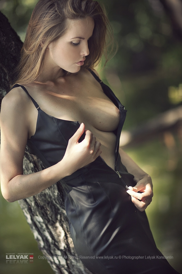 "500px / Photo ""Summer"" by Konstantin Lelyak; Brunette Outdoor Erotic Natural"
